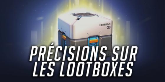 Overwatch, précisions sur les lootboxes