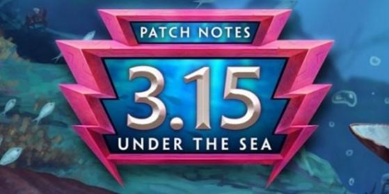 Notes de mise à jour 3.15 : Sous l'océan