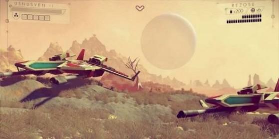 No Man's Sky : Lancement record sur Steam