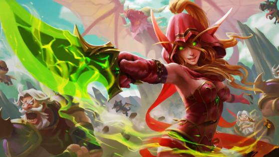 Heroes of the Storm : Guide Valeera, Build garrot