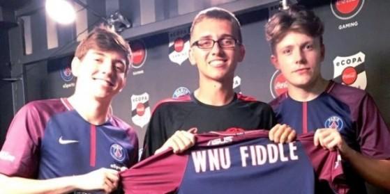 WNU Fiddle signe au PSG eSports