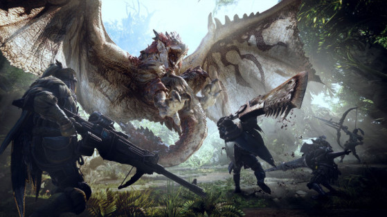 Monster Hunter World : Armes