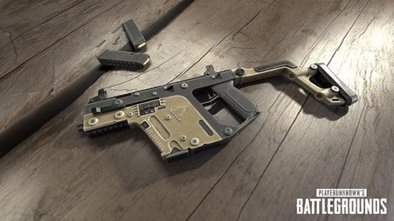 Armes PUBG : Pistolets-mitrailleurs, SMG