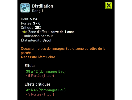 Distillation - Dofus