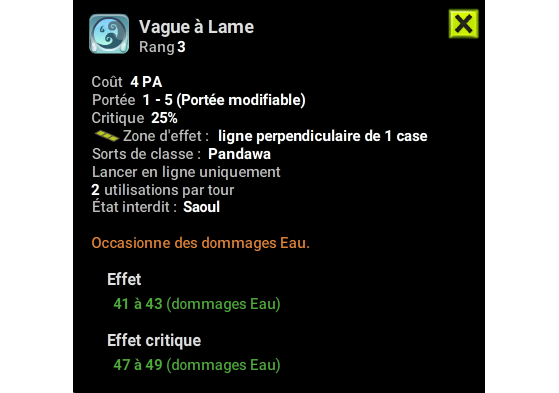 Vague à Lame - Dofus