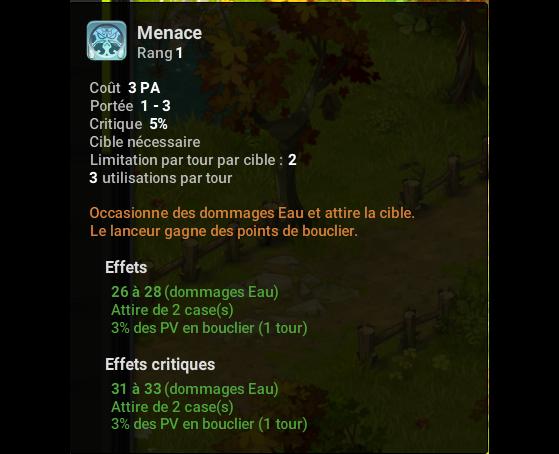 Menace - Dofus