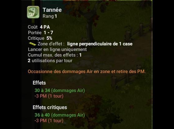Tannée - Dofus