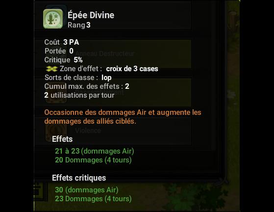 Epée Divine - Dofus