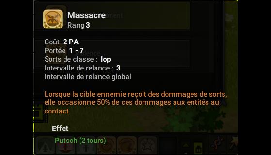 Massacre - Dofus