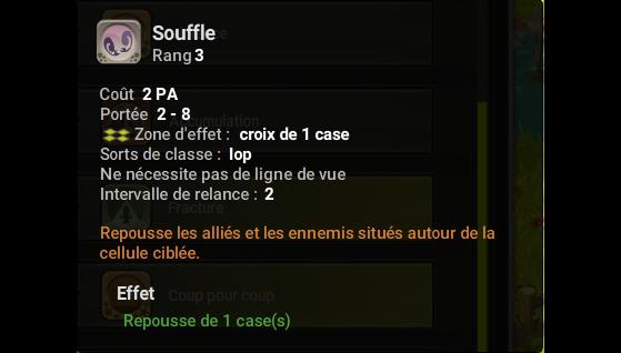 Souffle - Dofus