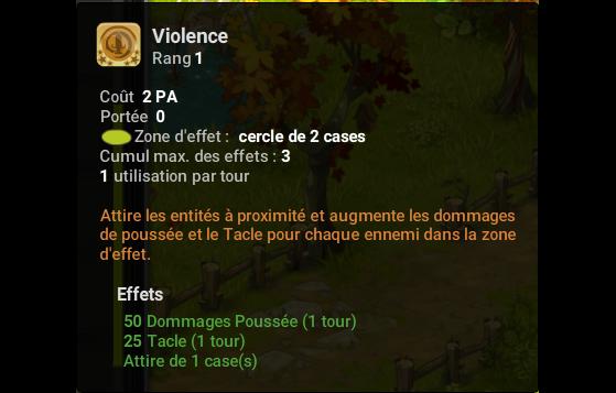 Violence - Dofus