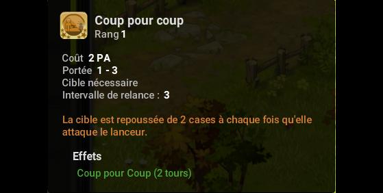 Coup pour coup - Dofus