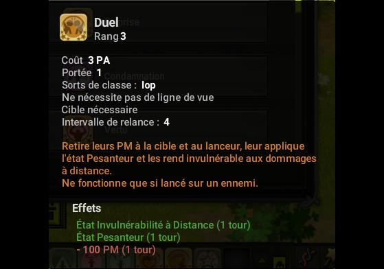 Duel - Dofus