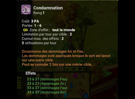Condamnation - Dofus