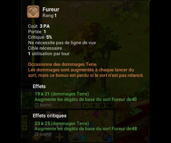 Fureur - Dofus