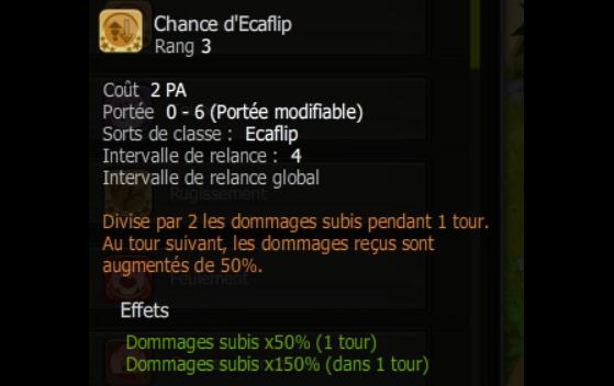 Chance d'Ecaflip - Dofus