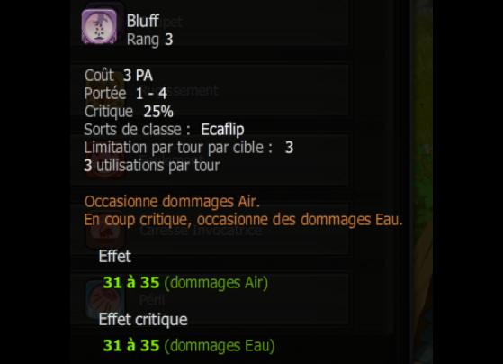 Bluff - Dofus