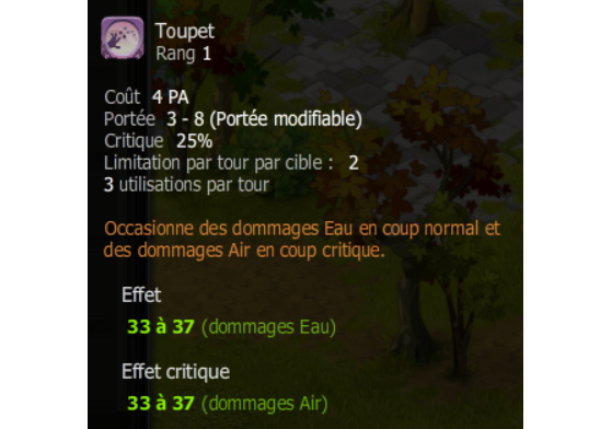 Toupet - Dofus