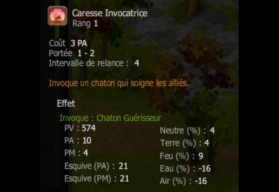 Caresse Invocatrice - Dofus