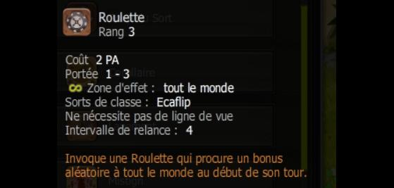 Roulette - Dofus