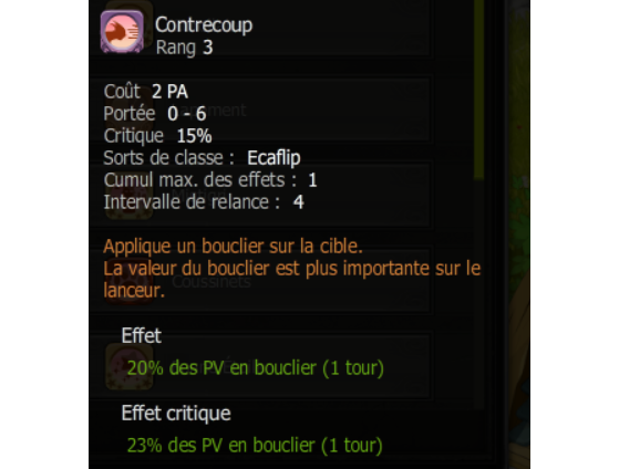 Contrecoup - Dofus