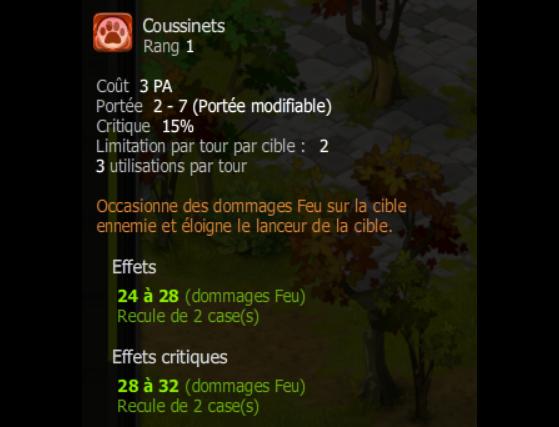 Coussinets - Dofus