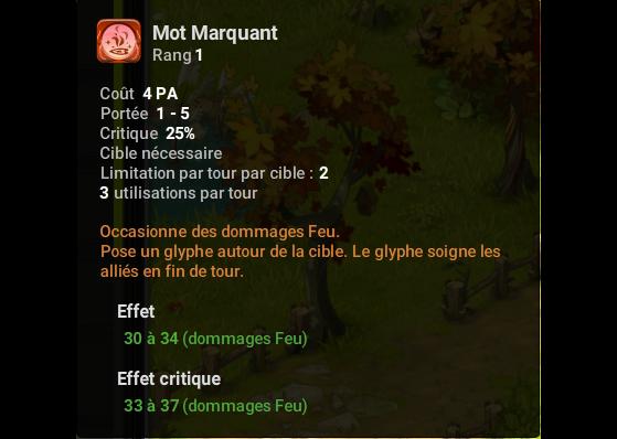 Mot Marquant - Dofus