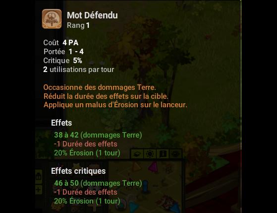 Mot Défendu - Dofus