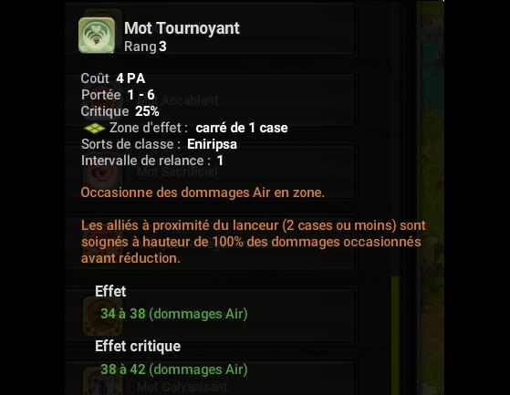 Mot Tournoyant - Dofus