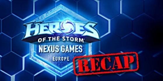 Nexus Games : Récap groupes et VODs