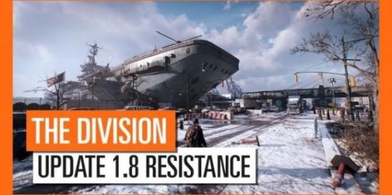 The Division, la mise à jour 1.8 arrive