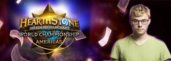 L'adversaire que Orange ne veut pas affronter pendant ce tournoi, Purple, son ami - Hearthstone