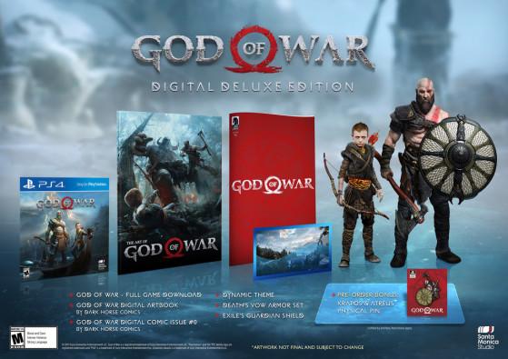 Digital Edition : 69,99$ - God of War