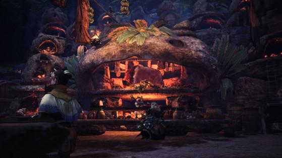 Alimenter la Cantine est important - Monster Hunter World
