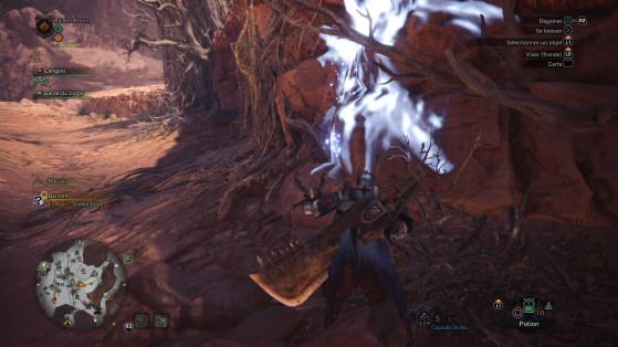 Un écofact de Barroth Alpha - Monster Hunter World