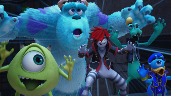 Kingdom Hearts 3 : Trailer Monstres & Compagnie