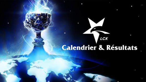 LCK Spring Split 2018 : Calendrier & Résultats
