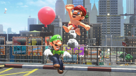 Super Mario Odyssey : Mise à jour, Ballons de Luigi, nouveaux costumes
