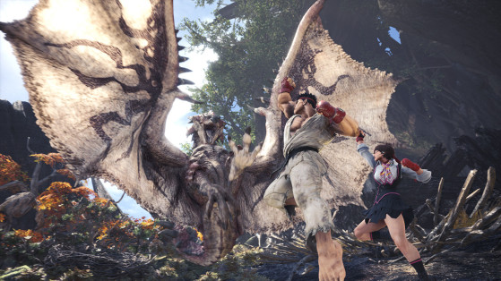 Avec 7,5 millions de copies distribuées, Monster Hunter World devient intouchable