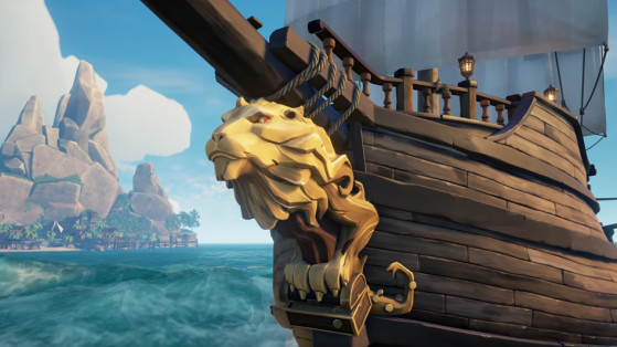 Sea of Thieves : customisation des navires
