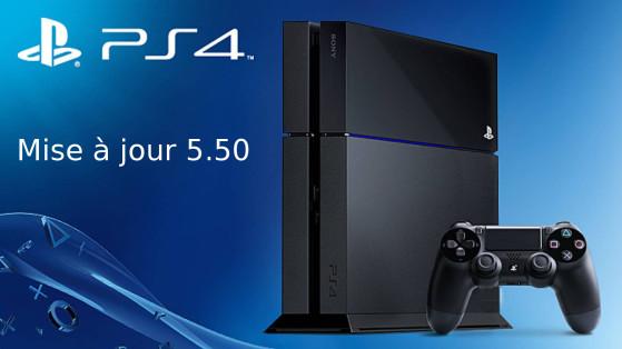 PS4 : La mise à jour 5.50 déployée