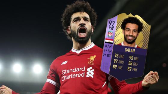 FUT 18 : Mohamed Salah POTM, joueur du mois de février
