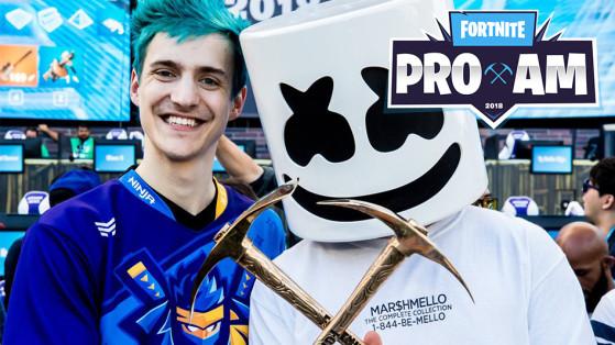 Fortnite E3 : tournoi ProAm avec Gotaga, Skyyart, Kinstaar et Ninja