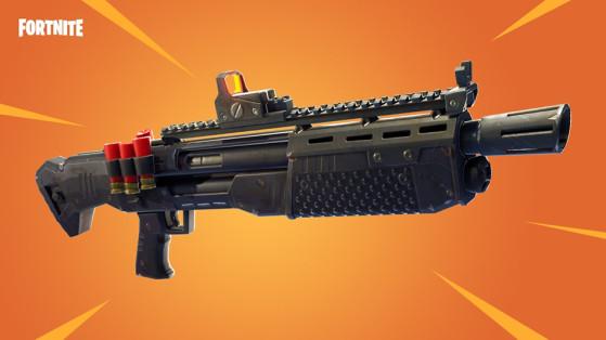 Fortnite Nouvelle Arme Fusil A Pompe Lourd Millenium