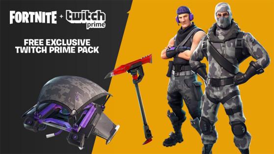 Fortnite : Skin Twitch Prime