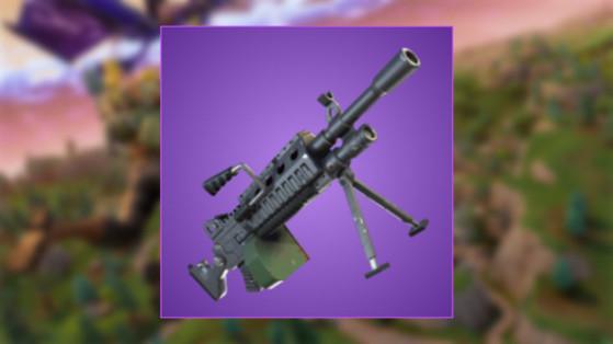 fortnite mitrailleuse legere nouvelle arme - mitrailleuse fortnite