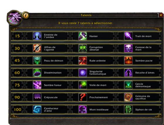 Talents BFA - World of Warcraft