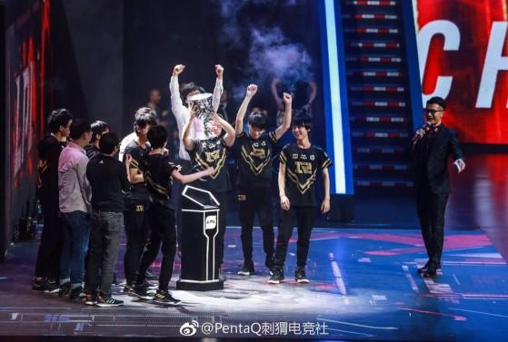 RNG remporte la finale du Spring Split 2018 face à Edward Gaming