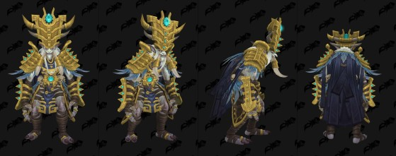 Le Prophète Zul avant sa soumission à G'huun - World of Warcraft