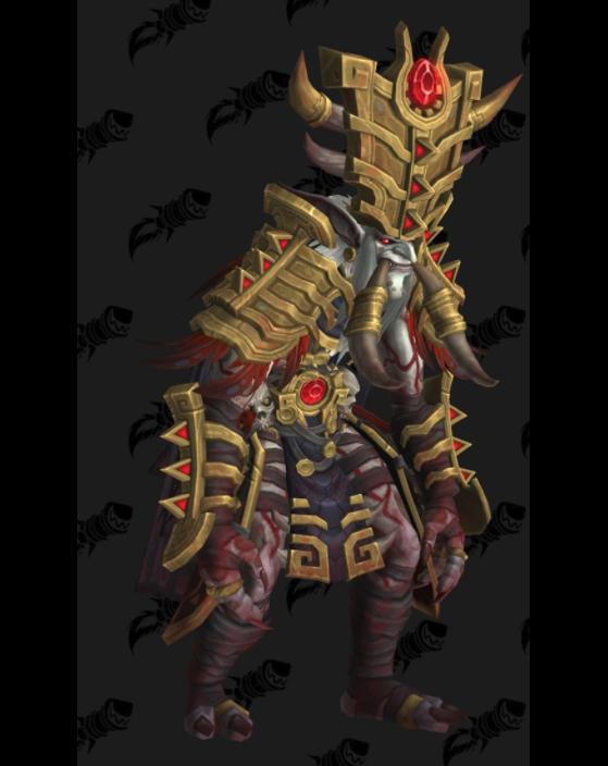 L'apparence de Zul, Réincarné - World of Warcraft
